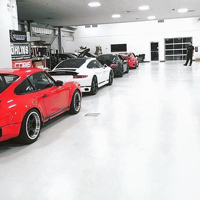 epoxy flooring contractor automobile dealerships