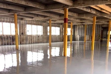 industrial flooring installer for cannabis operations