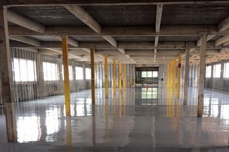 industrial flooring contractor for cannabis growers
