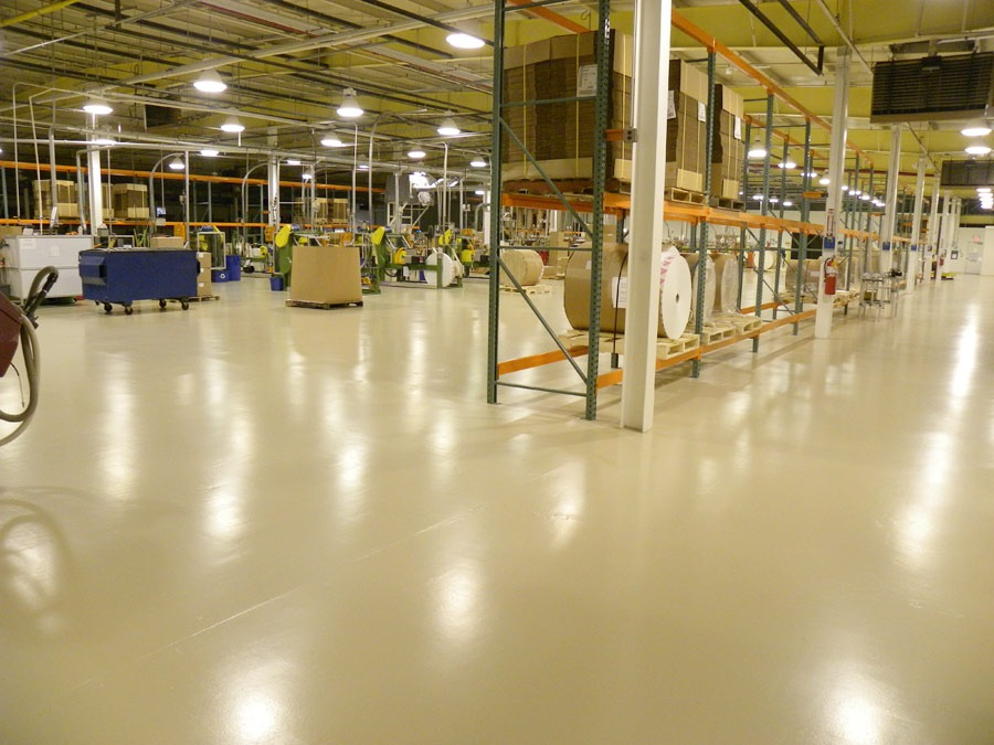 manufacturing facility flooring