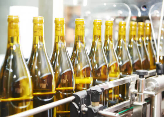 beverage bottling production line