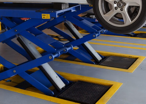 epoxy flooring for automotive facilities