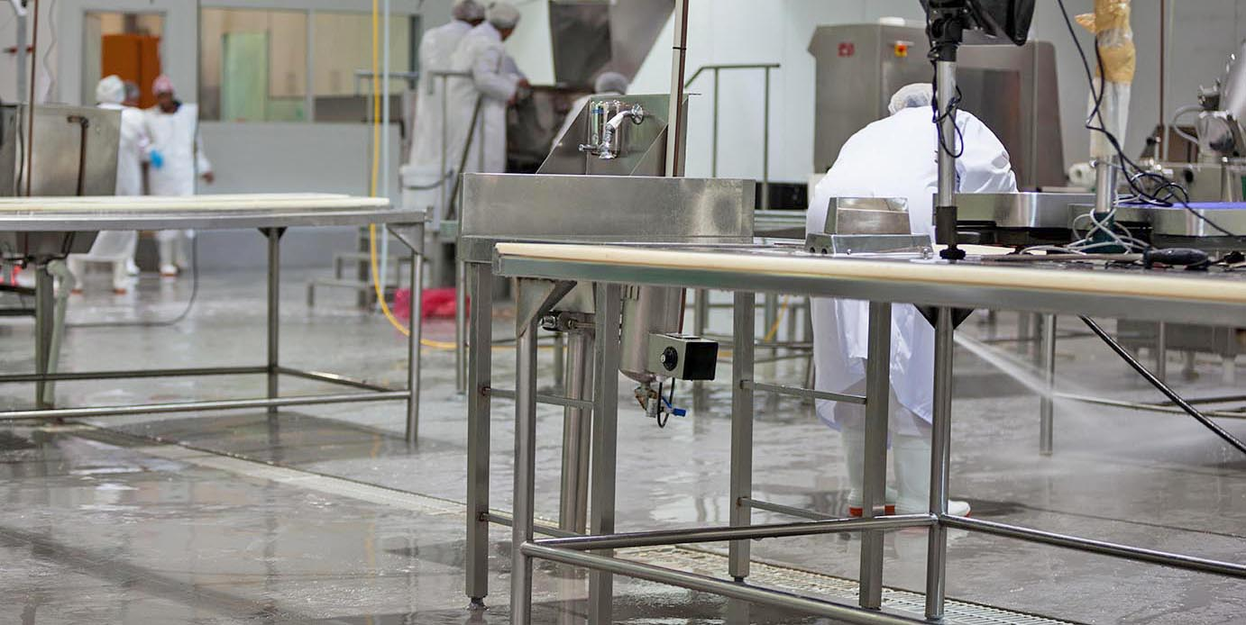 food and beverage facility flooring